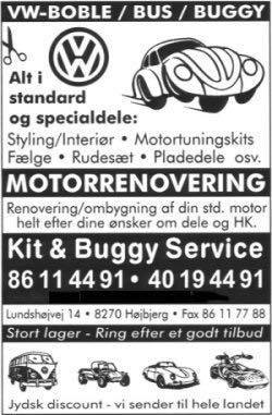 Kit og Buggy Service